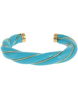 Diana Gold-plated Twisted Cuff