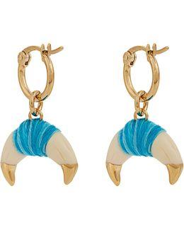 Takayama Bakelite & Gold-plated Earrings