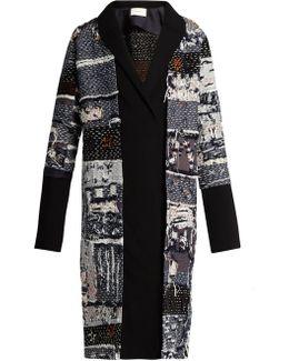Boro Multicoloured Patchwork Coat