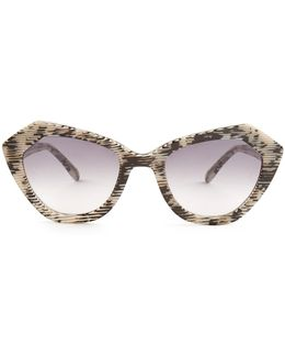 Bilbao 3-d Print Sunglasses