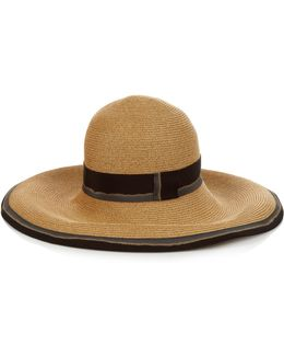 Arenal Foldable Straw Hat