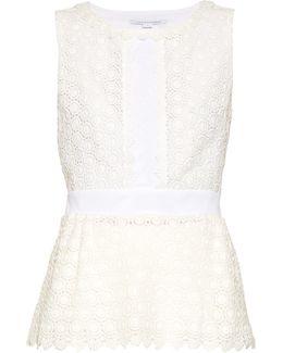 Tavita Cotton Lace Top
