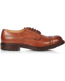 Amis B Leather Derby Shoes