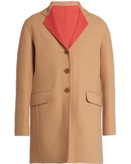 Double-faced Wool Coat