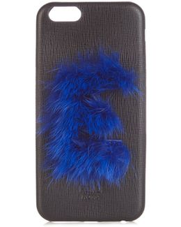 E Mink-fur And Leather Iphone® 6 Case