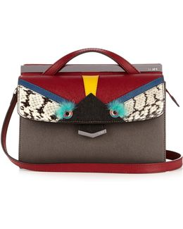 Demi Jour Bag Bugs Small Leather Crossbody Bag