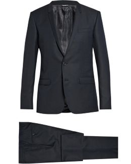 Gold-fit Wool Suit