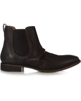Fleetwood Sharpei Leather Chelsea Boots