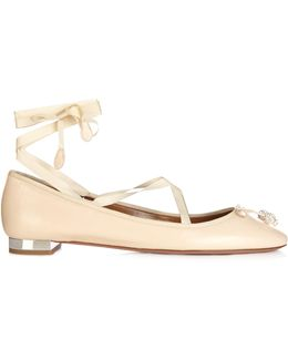 Very Leather Ballet Flats