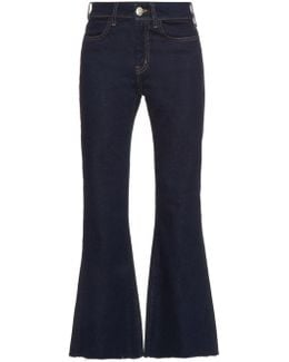 Lou High-rise Flared Jeans