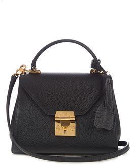 Hadley Baby Grained-Leather Cross-Body Bag