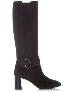 Gomma Knee-high Suede Boots