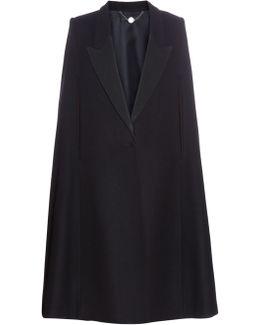Becker Oversized Tuxedo Cape