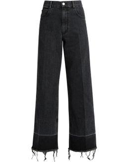 Legion High-rise Wide-leg Jeans