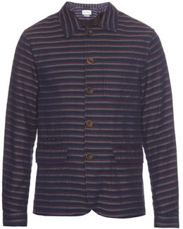 Navigator Striped Cotton Jacket