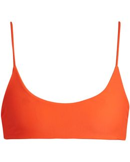 Hermosa Scoop-neck Bikini Top