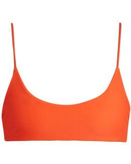 Hermosa Scoop-neck Bikini Top