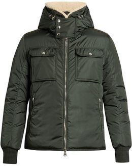 Darwin Shearling-collar Down Coat