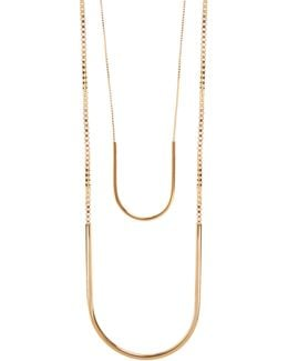 Allure Gold-plated Necklace