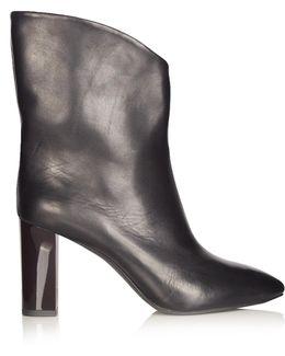 Ava V-cut Ankle Boots