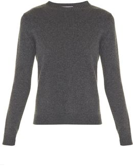 Rockstud Untitled #7 Crew-neck Cashmere Sweater