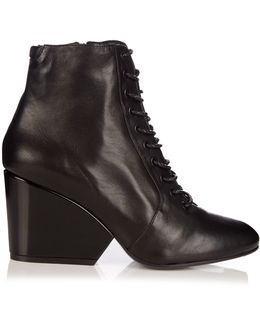 Tula Leather Ankle Boots