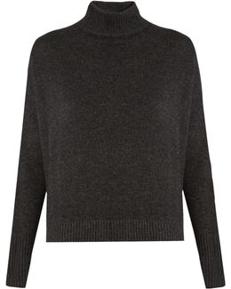 Island High-neck Cashmere Sweater