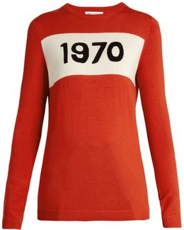 1970 Wool Sweater