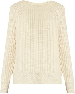 Penelope Ribbed-knit Alpaca-blend Sweater