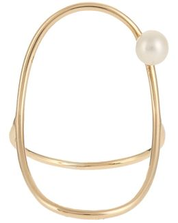 Pearl & Yellow-gold Ring
