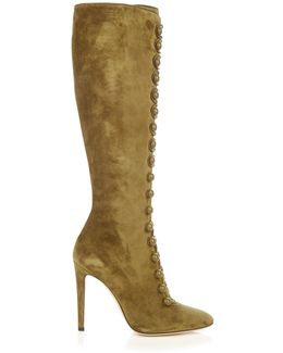 Imperia Suede Knee-High Boots