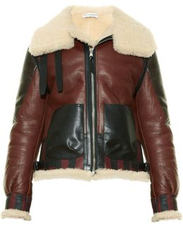 Antioch Leather And Shearling Jacket