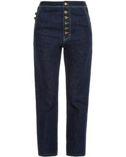 Monroe High-rise Slim-leg Jeans