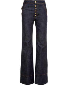 Phoenix High-rise Flared Jeans