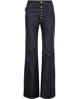 Phoenix High-rise Flared Jeans