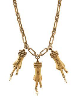 Hand Embellished Necklace