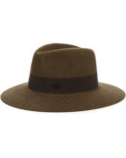 Henrietta Showerproof Fur-felt Hat