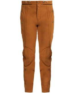 Zip-hem Skinny-leg Jeans