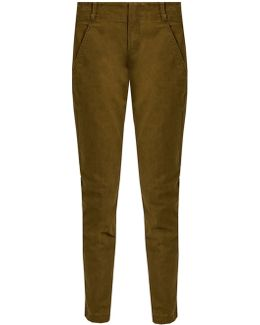 Jepson Mid-rise Slim-fit Trousers