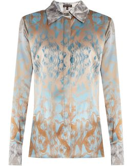 Waleska Silk-satin Shirt