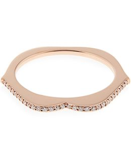 Omg! Diamond & Rose-gold Ring
