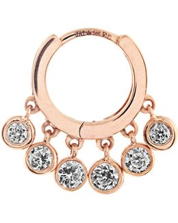 Diamond & Rose-gold Earring