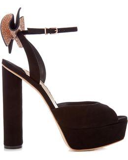 Raye Suede Platform Sandals
