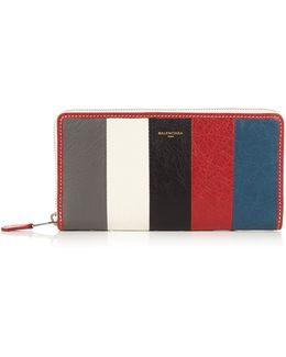 Bazar Zip-around Leather Continental Wallet