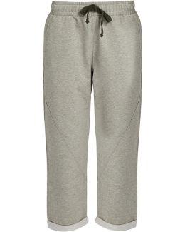 Aniki Cotton-blend Jersey Track Pants
