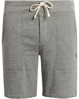 Drawstring Fleece Shorts