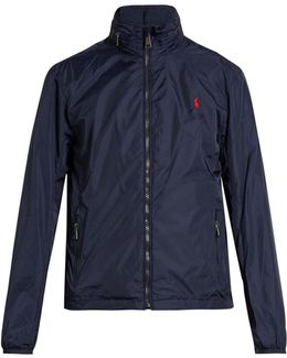 High-neck Nylon Jacket