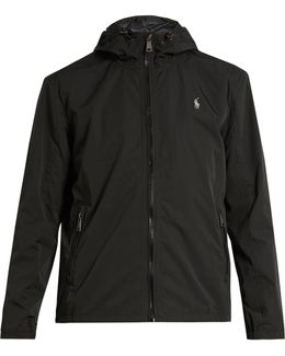 Water-resistant Nylon Hooded Jacket