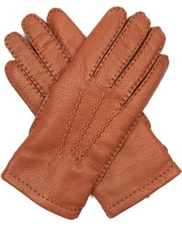 Badminton Leather Gloves