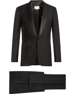 Wool And Mohair-blend Tuxedo